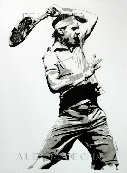 Rafael Nadal par pieddesaux